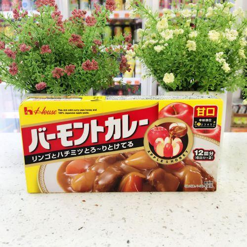 日本好侍苹果咖喱调味料(甜味)230g