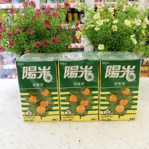 阳光柑桔茶250ml×6