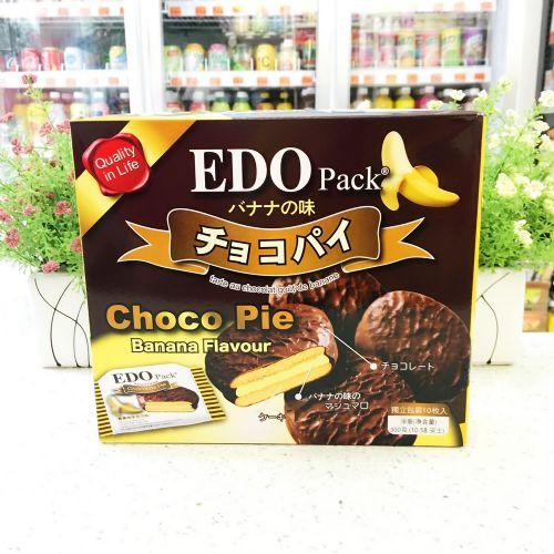 EDO巧克力派(香蕉味)300g