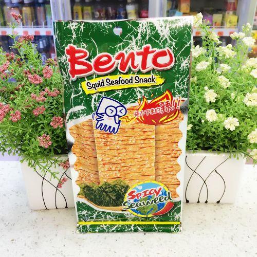 泰国Bento超味鱿鱼片(绿色海苔味)24g