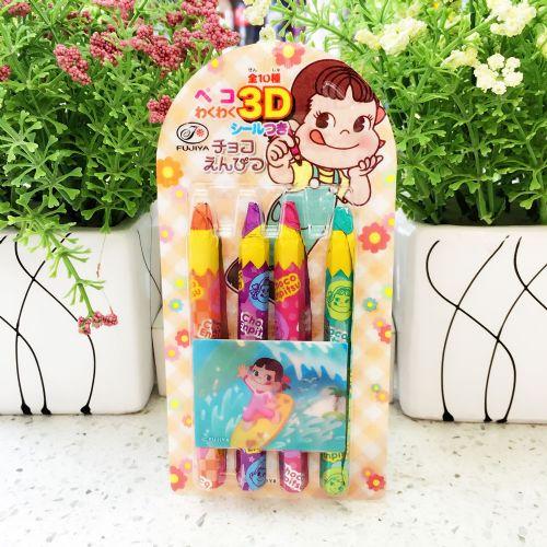 日本不二家铅笔造型巧克力27g(4支)
