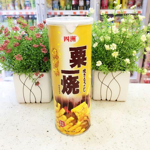 四洲粟一烧烧烤味(罐装) 85g