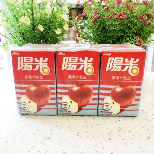 阳光苹果汁茶饮品250ml×6