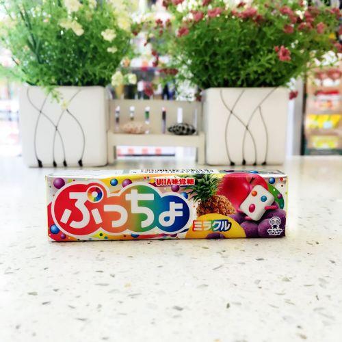 日本UHA味觉糖果肉条装软糖10粒(杂果味)