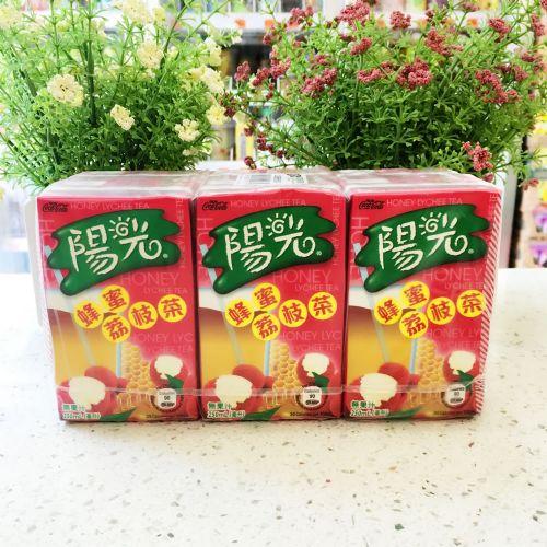 阳光蜂蜜荔枝茶饮品250ml×6