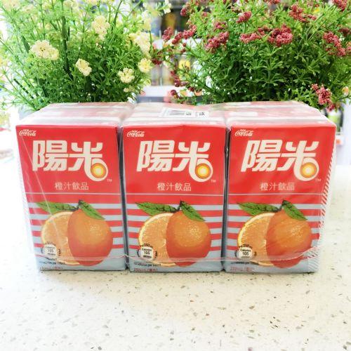 阳光橙汁饮品250ml×6