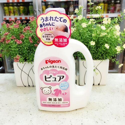 日本贝亲婴儿专用洗衣液800ml
