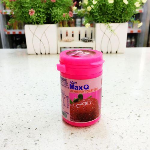 台湾MAX COOL 蛮牛无糖口香糖54.6g(草莓酸奶味)