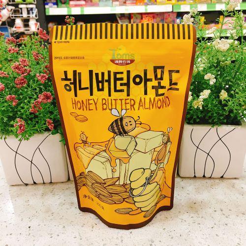 韩国汤姆农场蜂蜜黄油扁桃仁杏仁250g