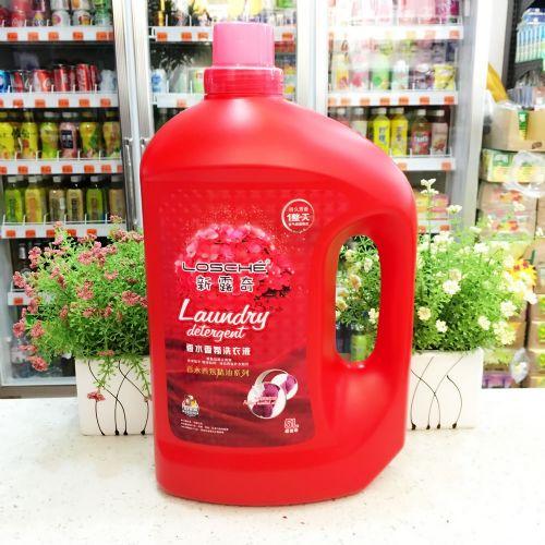 新露奇香水香薰洗衣液5L(红色)