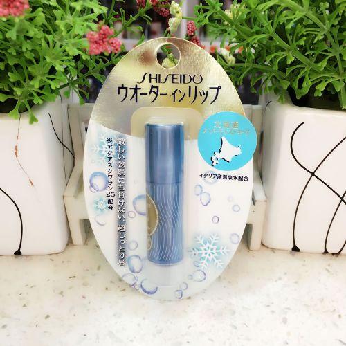 日本Shiseido资生堂北海道温泉水润唇膏3.5g 防晒SPF12 PA+