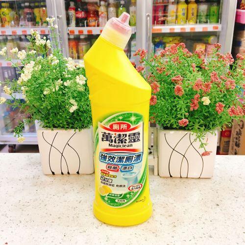 万洁灵强效洁厕漂洁厕剂(柠檬清香)500ml