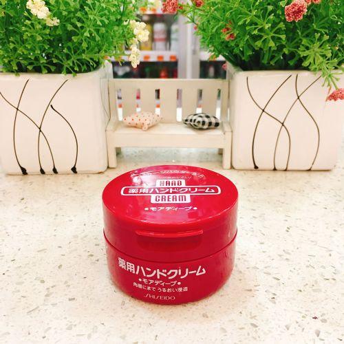 日本原装进口资生堂药用保湿尿素膏软膏护手霜100g