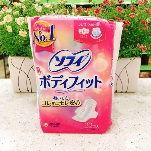 日版苏菲丝薄贴身卫生巾22片21cm日用
