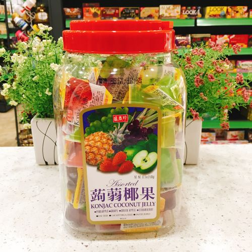 盛香珍�X�m椰果(综合口味)1500g