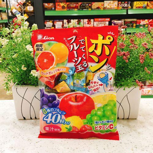 狮王杂锦水果糖140g(袋装)