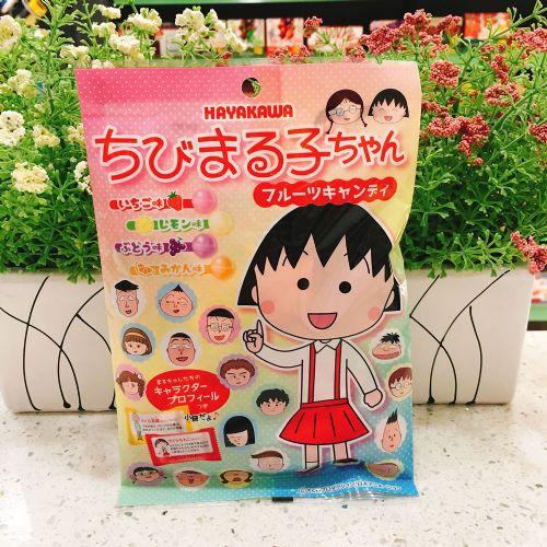 日本早川樱桃小丸子杂果糖80g(袋装)