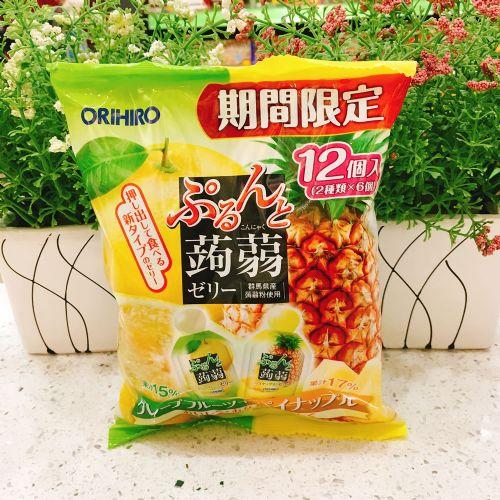 日本ORIHIRO西柚菠萝�X�m12个(袋装)