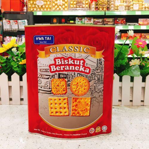 马来西亚华大经典什锦饼干500g