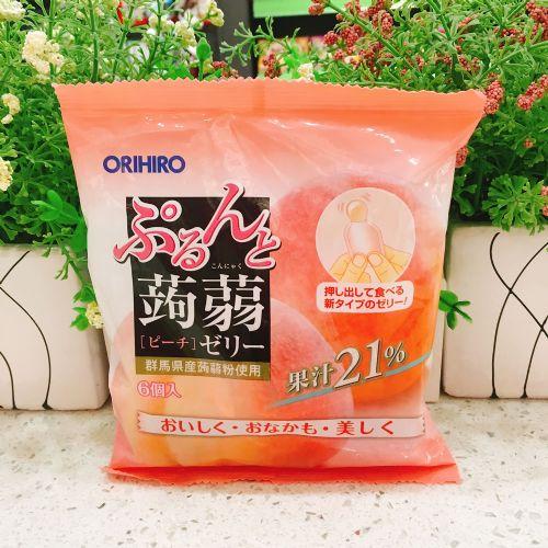 日本ORIHIRO�X�m(水蜜桃味)120g