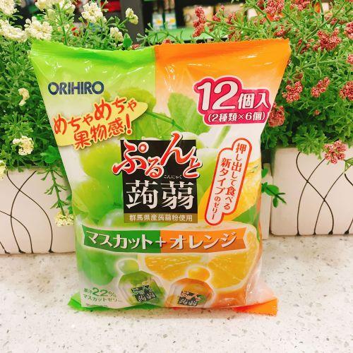 日本ORIHIRO青提香橙�X�m12个(袋装)