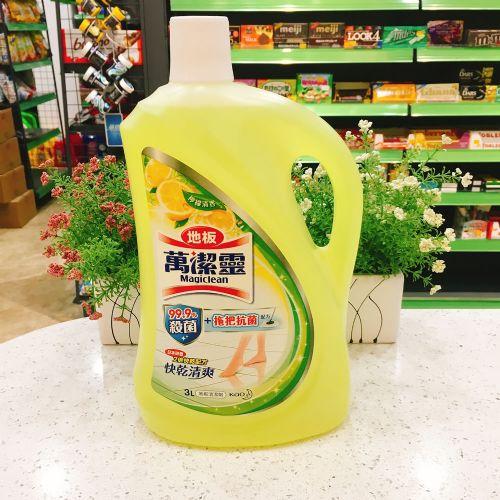 万洁灵柠檬清香地板清洁剂3L