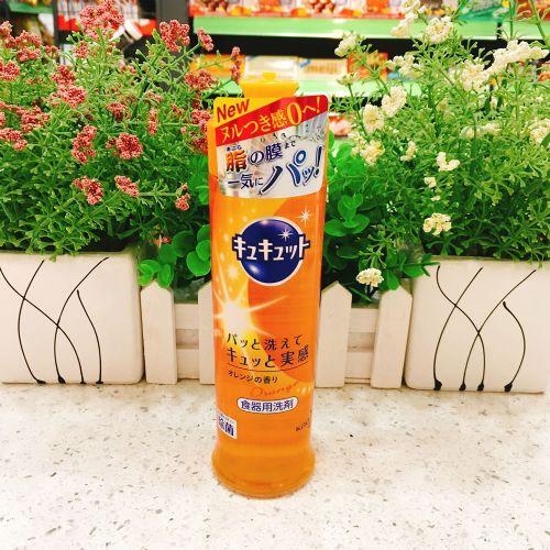 日本花王蔬果清洁剂240ml(橙子清香)