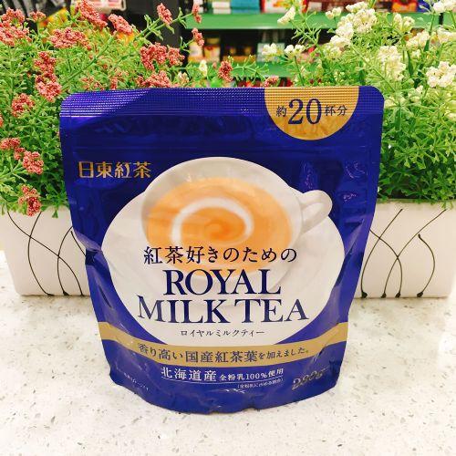 日本日东红茶牌经典原味速溶奶茶固体饮料280g