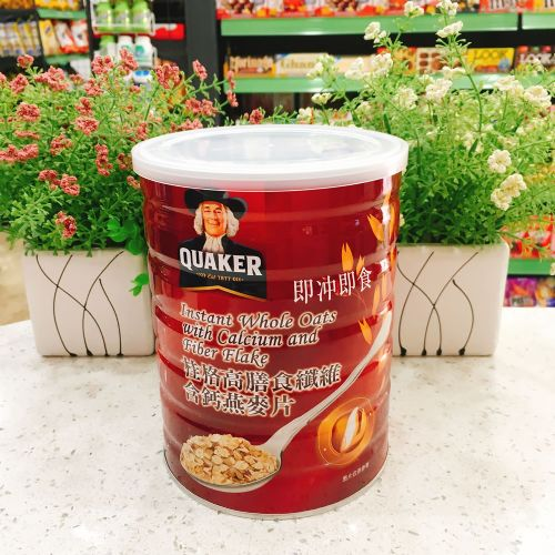 桂格高膳食纤维含钙混合型燕麦片700g