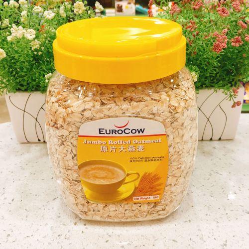 马来西亚优佳原片大燕麦片1kg