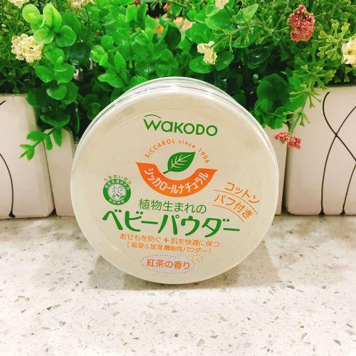 日本和光堂婴儿爽身粉120g红茶味