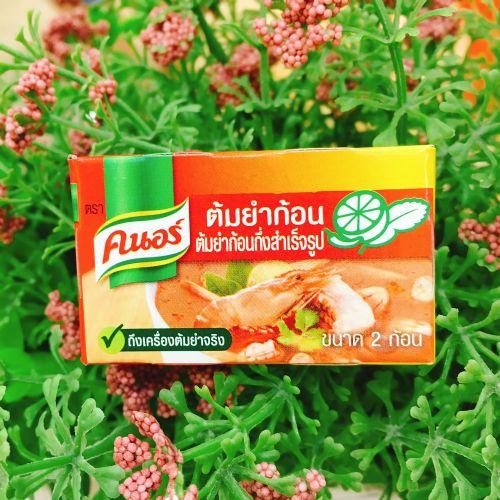 泰国特产家乐冬阴功汤料酱调料火锅底汤料12小盒酸辣虾火锅汤料
