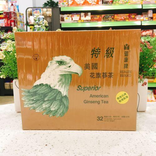 香港健康牌特级美国花旗参茶32包