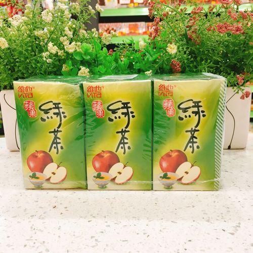 维他苹果绿茶250ml×6盒装