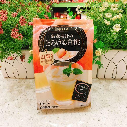 日本日东红茶(水蜜桃味)10包