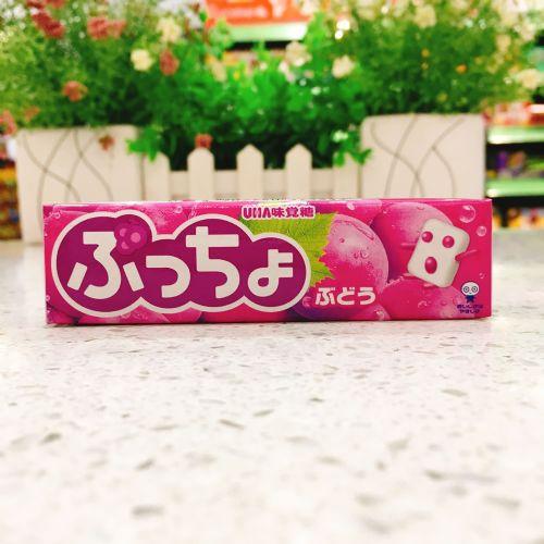 日本UHA悠哈味觉糖葡萄软糖50g