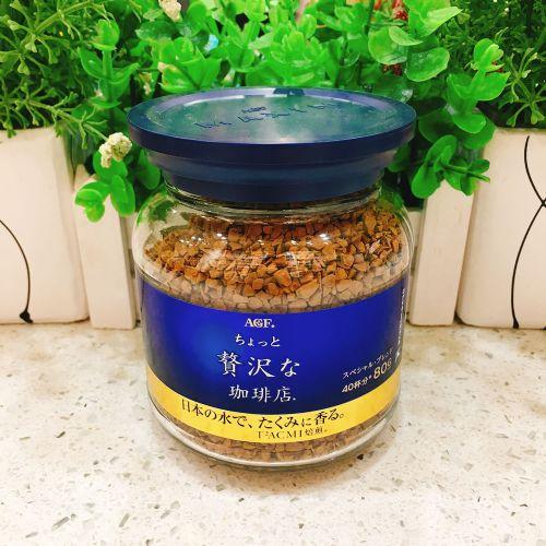 日本AGF MAXIM 浓厚即溶咖啡80g(樽装)