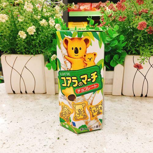 日本乐天熊仔饼(朱古力味)50g