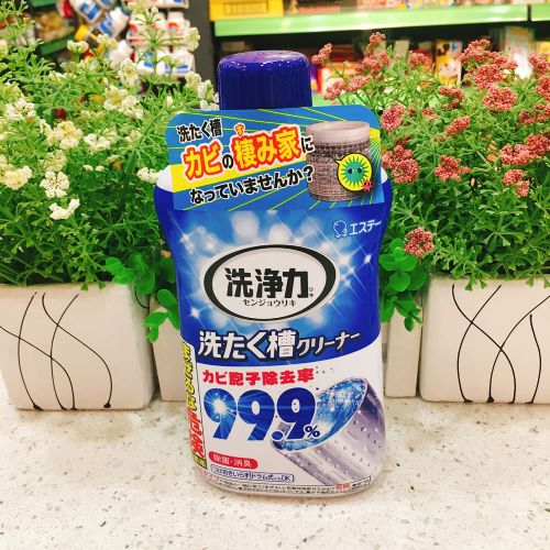 日本ST小鸡洗衣机槽清洁剂全自动滚筒波轮清洗除霉菌粉末180g