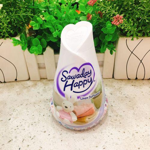 日本小林制药固体香薰空气清新剂(柔顺剂般的温和柔软香气)150ml