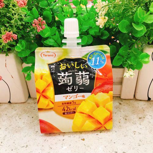 日本Tarami�X�m可吸果汁果冻芒果味150g