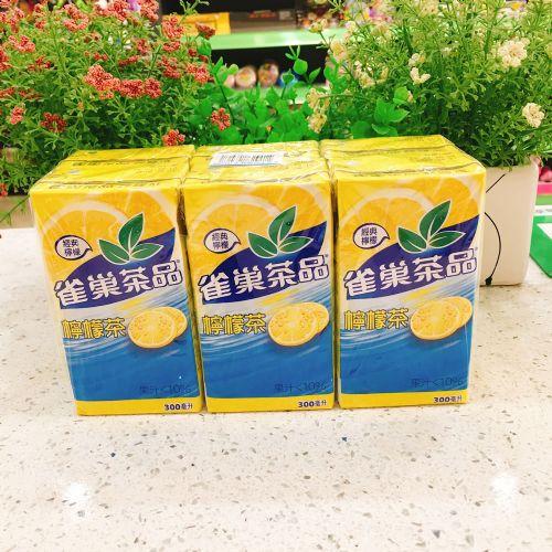 台湾雀巢冰爽茶300ml×6(纸盒装)