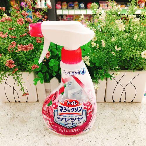 日本花王玫瑰马桶清洁剂洁380ml