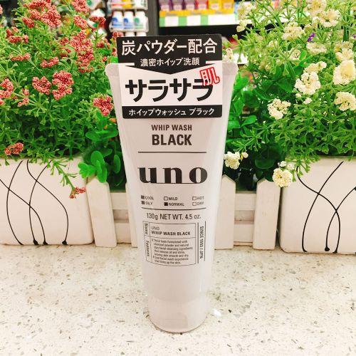 日版资生堂UNO洗面奶130g(天然碳劲爽控油)
