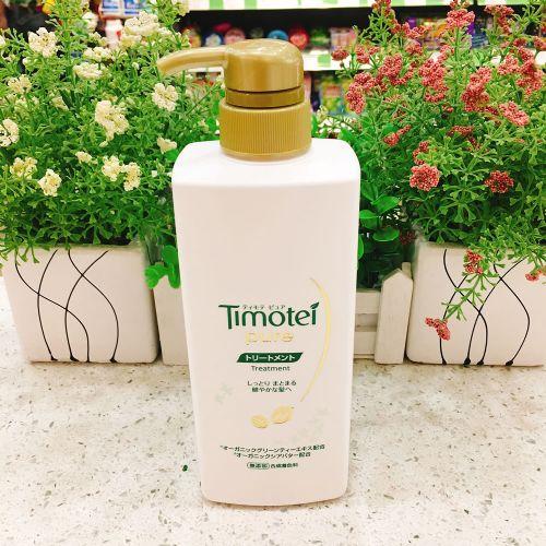 日本有机绿茶Timotei pure 无硅油清爽护发素400ml