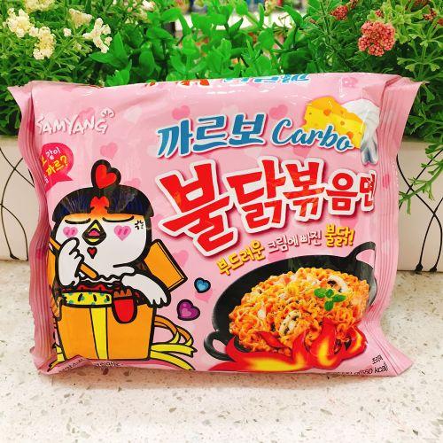 韩国三养超辣鸡肉味奶油拌面130g