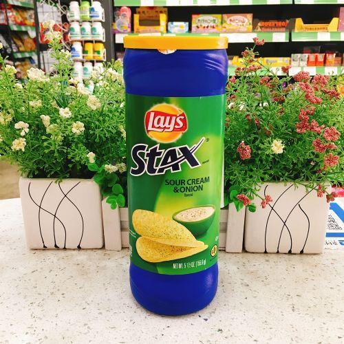 墨西哥乐事罐装酸奶洋葱味薯片 163g