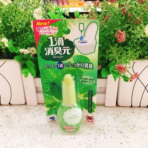 日本小林制药1滴消臭元马桶消臭芳香剂 绿色芳草香20ml