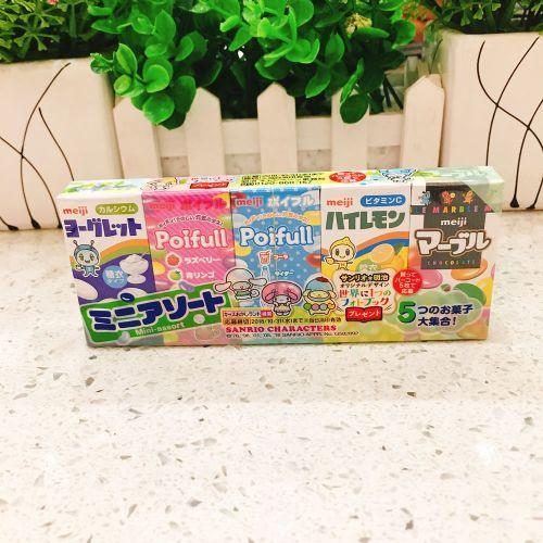 日本明治五宝糖63g