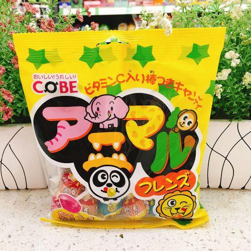 马来西亚COBE混合水果味棒棒糖150g